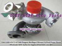 NEW TD02 TD025HM 49173-07508 49173-07506 Turbocharger For FORD Focus Fiesta Fusion Peugeot Berlingo Citroen C4 1.6L HDi DV6ATED4