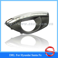 CAR-Specific Hyundai Santa Fe 2010-2012 LED DRL,LED Daytime Running Light + Free Shipping By EMS
