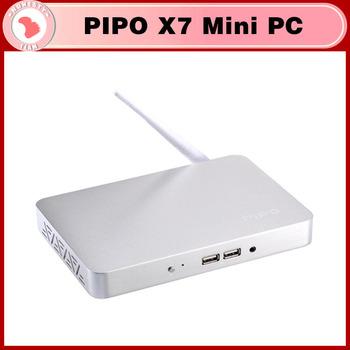 PIPO X7 Mini PC TV BOX Quad-Core Intel Atom Z3736F 2.16GHz mini pc Windows 8.1 OS With Bing TV Player 2GB/32GB HDMI Cable