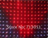P18(pitch 18cm) 2M*3M  led Video curtain,30programs DMX controller,30pieces/square