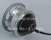36V 250W electric hub motor rear hub disc brake motor,6-8speed