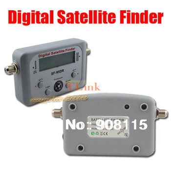 SF-95DR Satellite Signal Finder Satfinder Tool Find Meter LCD DIRECTV Dish FTA Digital Displaying For TV Singnal Finder Meter
