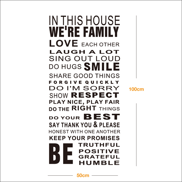 Quotes About Love Vs Family : Family Quotes In This House Sentiment. QuotesGram