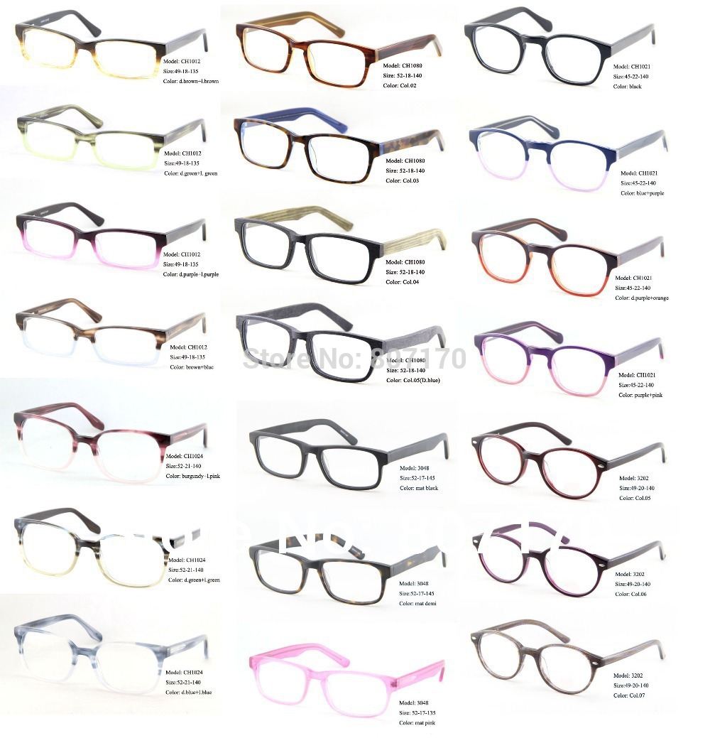 Eyeglass Frame Style Names : Sales Women Glasses Frames Men Eyeglass Optical Frames ...