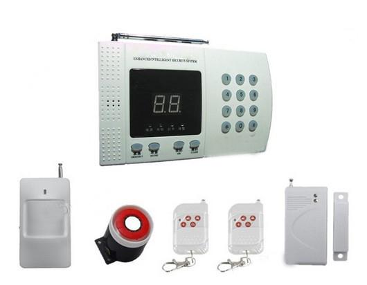 New Wireless PIR Home Security Burglar Alarm System Auto Dialing Dialer Easy DIY PSTN alarm(China (Mainland))