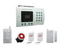 New Wireless PIR Home Security Burglar Alarm System Auto Dialing Dialer Easy DIY