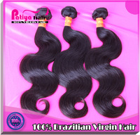 6A brazilian virgin hair body wave high quality hair products1 pc/lot unprocessed virgin hair extensions fast delivery