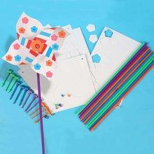 12PCS/LOT,DIY &paint your own windmill.Family fun,Art toys.Kindergarten supplies.21x51cm.Wholesale.Freeshipping(China (Mainland))