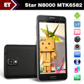 Star N8000 3G Phone 5&quot; Capacitive Screen MTK 6575 Android 4.0 RAM 512MB ROM 4GB Dual SIM Bluetooth