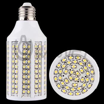 E27 14W 110V-230V 1200LM 3528SMD 240LED Light Bulb Warm White and Cold White LED Lamp  Energy Saving