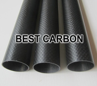 Free shiping 4pcs x 20mm x 18mm x 1000mm High Quality 3K Carbon Fiber Fabric Wound/Winded/Woven Tube