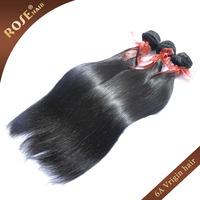 6A Brazilian virgin hair extensions,3pcs/lot Rosa natural straight hair weave Double hair weft,100% human hair,fast DHL shipping