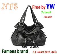 Yw hot sale desigual women's handbag tassel women's bags casual handbag shoulder bag  vintage bag