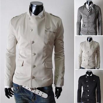 2014 autumn\winter new fashion America style men's causal  jacket clothing manteau menswear coat man  jaket.3 colours size M-XXL