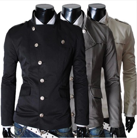 2014 spring new America men's leisure jacket clothing manteau menswear