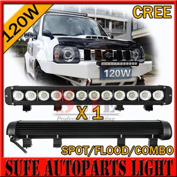 20 INCH 120W CREE LED LIGHT BAR DRIVING LIGHT COMBO FOR OFFROAD MARINE BOAT CAMPING 4x4 ATV UTV USE 180W 240W