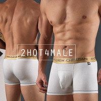 [ON SALE] Andrew Christian Men's AC Underwear Almost Naked Infinity Boxer w/ Anatomically Correct Pouch