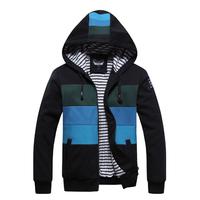 2014 Free Shipping HOT Men's Hoodies Sweatshirts Men's Casual Wear Autumn wear Fashion Style Black&Gray&Green Size;M-XXL,MWW021