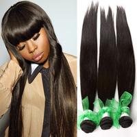 6A Unprocessed Peruvian Virgin Hair Straight 3pcs Lot Natural Black No Tangle No Shedding Can Be Dyed Top Quality Human Hair