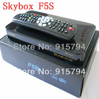10 pieces /lot original Skybox F5S Mini Satellite Receiver VFD display support usb wifi external GPRS free shipping