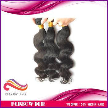 "Peruvians hair body wave 12"" to 30"" 3pcs/lot 100% vir-gin and re-my hair extension hu-mans hair free shipping"
