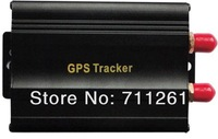vehicle GPS  tracker  GPS/SMS/GPRS  global  tracking system for   car  truck  bus  .etc  by cellphone and network free shiping