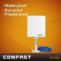 outdoor waterproof wireless usb wifi high power adapter 150Mbps 802.11g\b\n Radar multifunction comfast CF-N5  free shipping