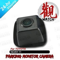 Free Shipping Wired HD CCD Car Parking Reversing Backup Rearview Camera for Toyota NOAH 2011 etc. Night Vision Waterproof