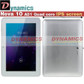 Quad core A31 IPS In stock  free shipping 10.1 inch Nova 10  Android 4.1 4.2 Tablet PC Quad Core 2G RAM 16G IPS 1280*800 HDMI(China (Mainland))