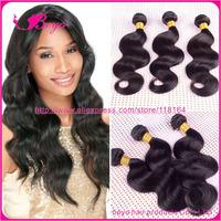 "malaysia virgin hair Cheap human hair extension malaysia body wave 8""-30"" 3pcs free shipping natural black hair malaysian hair"