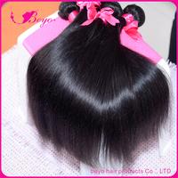 "beyo brazilian virgin hair gaga hair,brazilian virgin hair straight no tangle and shedding 4pcs 8""-30"" human hair free shipping"