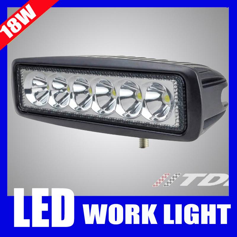 Mini 6 inch LED Light Bar 18W Offroad LED Bar LED Worklight