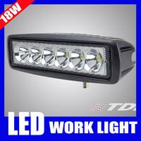 Mini 6 inch LED Light Bar 18W Offroad LED Bar LED Worklight Flood Spot Light Boating Hunting Fishing Truck Motorcycle 12V 24V