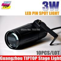 Cheap Price 10Pcs/Lot 3W LED Pin Spot Light  White Color Spot Effect LED Rain Light For Wedding Decoration Led Stage Lighting