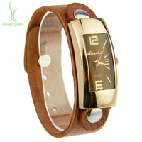 2014 New Arrival Fashion Leather Band Watch For Women Lady Wristwatch PI0547