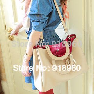 Newest Large capacity Women's Handbag/Fashion Hot-selling Ladies' Shoulder Bag/Female Clutch PU Bags/Women Totes/BTW