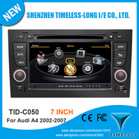7 Inch Screen Car DVD for Audi A4 2005-2008 With GPS Radio 1G CPU 3G Wifi Host S100 Support DVR Audio Video Player Free Map