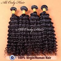 "Ms Lula Peruvian Virgin Hair Deep Curly 3Pcs Lot,Peruvian Curly Hair Natural Black Hair 8""-30"" Unprocessed Human Hair Extension"