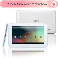 New !Cheapest Ainol NOVO7 Raibow  Tablet PC  Android 4.2 7 Inch Capacitive 2160P WIFI Camera 2160P