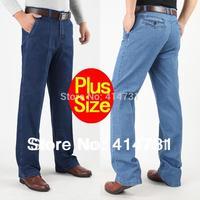 Plus Size 30-42 New 2014 Fashion Men Summer Spring Jeans Male/Mens Clothing Brand High Waist Designer Denim Pants Long Trousers