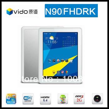 Yuandao Vido N90 FHDRK N90FHD RK Quadcore RK3188 9.7inch IPS Retina screen 2048x1536 Android 4.1 2GB RAM 16GB Bluetooth
