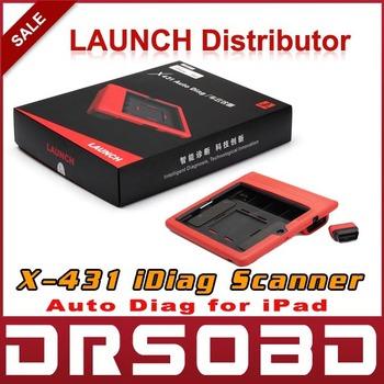 [5pcs/lot] 2014 100% Original Launch X431 iDiag Scanner for IPAD X-431 Auto Diag intelligent Diagnosis easydiag Update Online