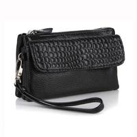 2015 Hot Selling Women Clutch Genuine Leather Handbag  Wristlets Shoulder & Messenger  Evening Stone Pattern bags,YB-DM608