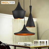 Free shipping,3PCS/set Together,Tom Dixon Pendant Light Fixtures,Modern Dining Room Aluminum Shade The Pendant Lamps For Home