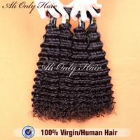 Malaysian Virgin Hair Deep Curly 4pcs Lot,Cheap Malaysian Curly Hair Remy Hair 8-30Inch,100% Human Hair Extension Tangle Free