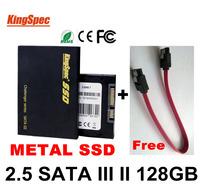 sale KINGSPEC 7mm Super Slim ssd hard disk 2.5 SATA III II hd SSD 128GB SATA Solid State Disk Hard Drives HDD 120gb ssd 128