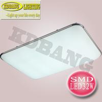 Modern led square ceiling lamp LED SMD 5730 32W led square ceiling lights,acrylic mask AC220V