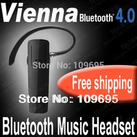 Wireless V4.0 Stereo Bluetooth Headset Earphone Headphone for all phone ,Bluetooth stereo headset ,Car handsfree,MTK6592 headset