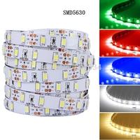 Brightest 16.4 Ft Non-waterproof  60leds/m Samsung 5630 12V Dc White smd5630 led strip