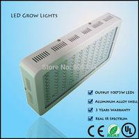 300W indoor led grow lights Free shipping full spectrum plant grow lights,hydroponic growing light,Medicinal plants veg&flower